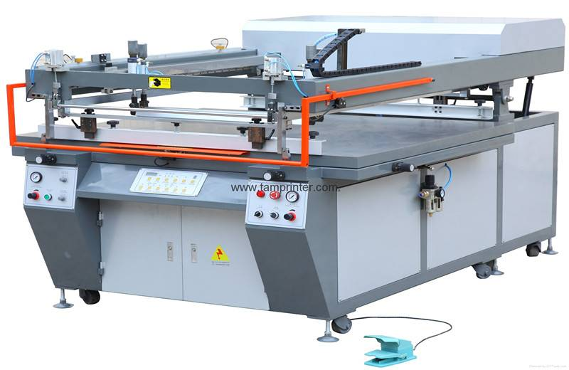 TM-120140 Semi-automatic Oblique Arm Screen Printer