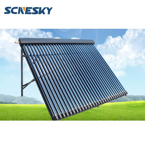 30 Tube Solar Water Heater Collector 37 deg Frame Evacuated Vacuum Tubes SRCC Certified Hot