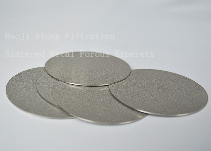 Precious catalyst recovery filtration filters elements porous metal sintered filter media