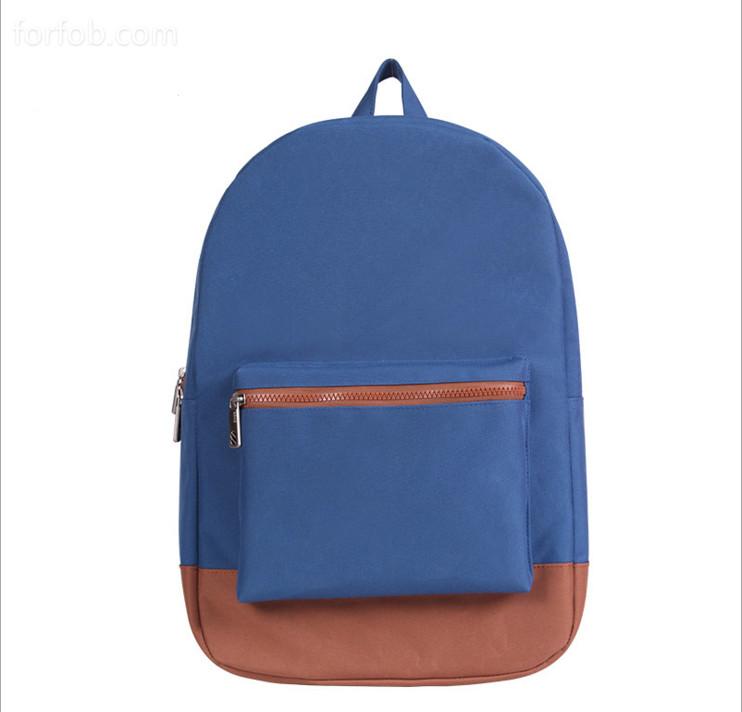Canvas Sports School Travel Rucksack Backpack