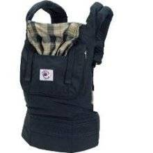Ergo Baby BCO417NP Organic Highland Navy Plaid Baby Carrier
