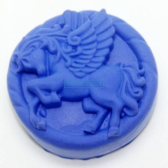 Horse Silicone Soap Molds Fondant Cake Chocolate Molds For The Kitchen Cake Decorating AB013