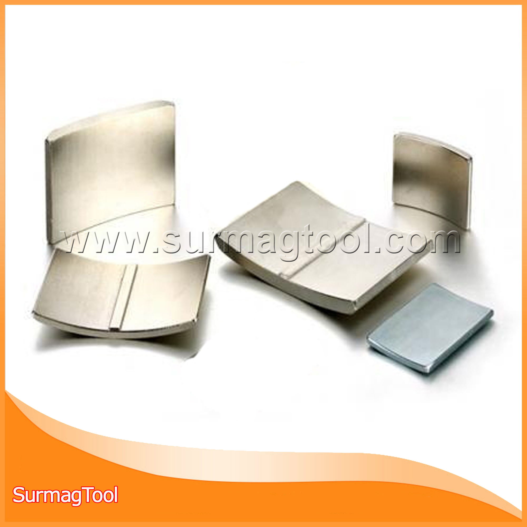 Segment ni coating permanent ndfeb magnets