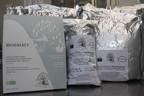 Donkey milk lyophilized  (freeze dried)