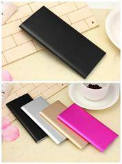 smart phone iphone power supply portable mini polymer XIAO MI slim power bank 6000mah