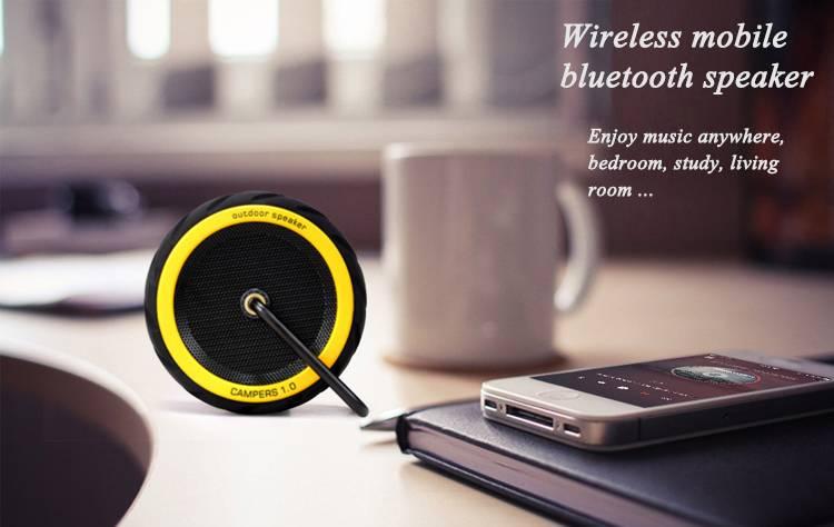 2015 new fashion desgin tyre shape wireless outdoor sport mini waterproof bluetooth speaker