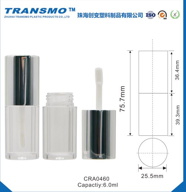Plastic 6ml Aluminum Lip Gloss Containers Lip gloss Tube
