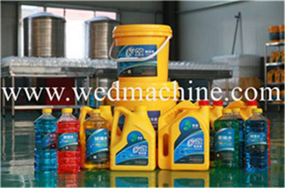 Engine Coolant Filling Machine