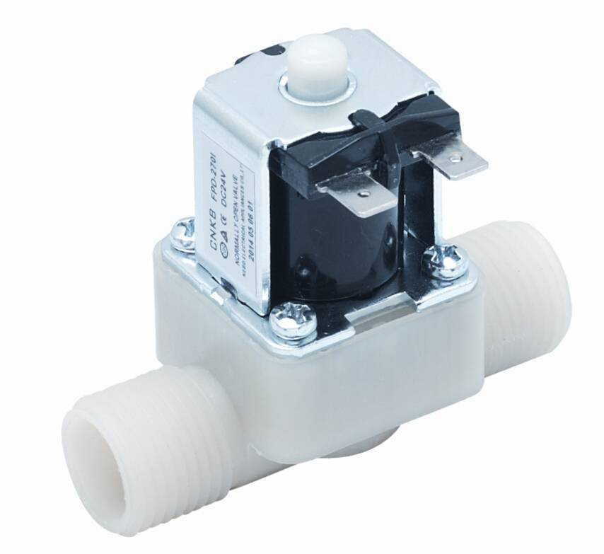 Solenoid valve for water heater