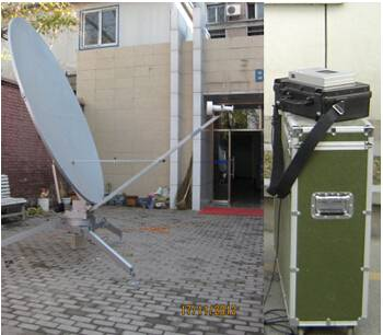2.4M Flyaway motor drive Antenna