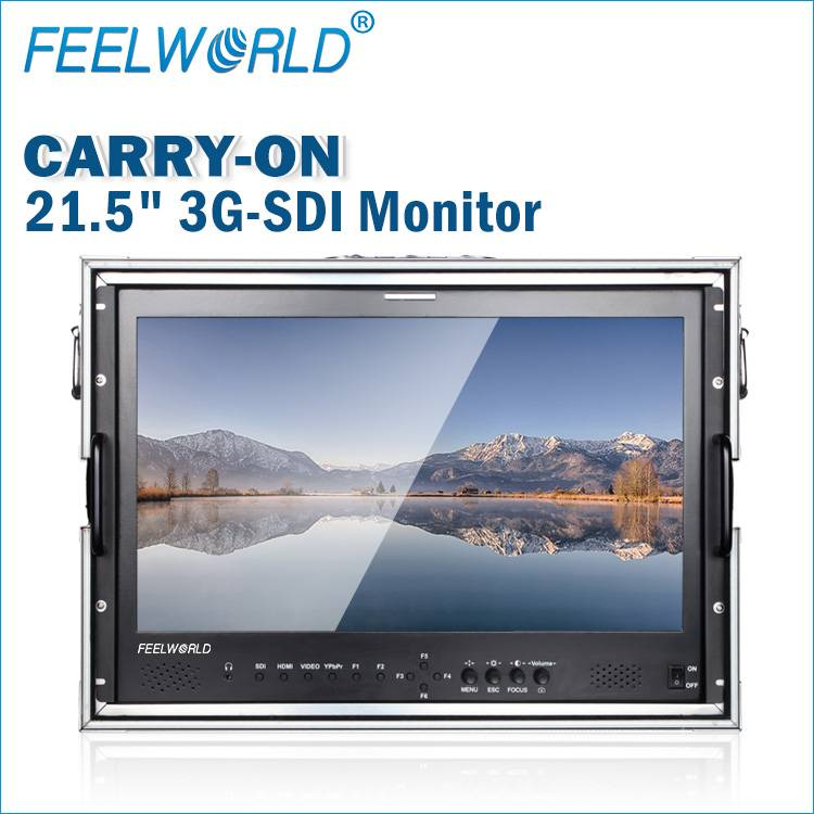 "21.5""High Resolution 1920x1080 and High Contrast 3000:1 IPS LCD Monitor with 3G-HD input"