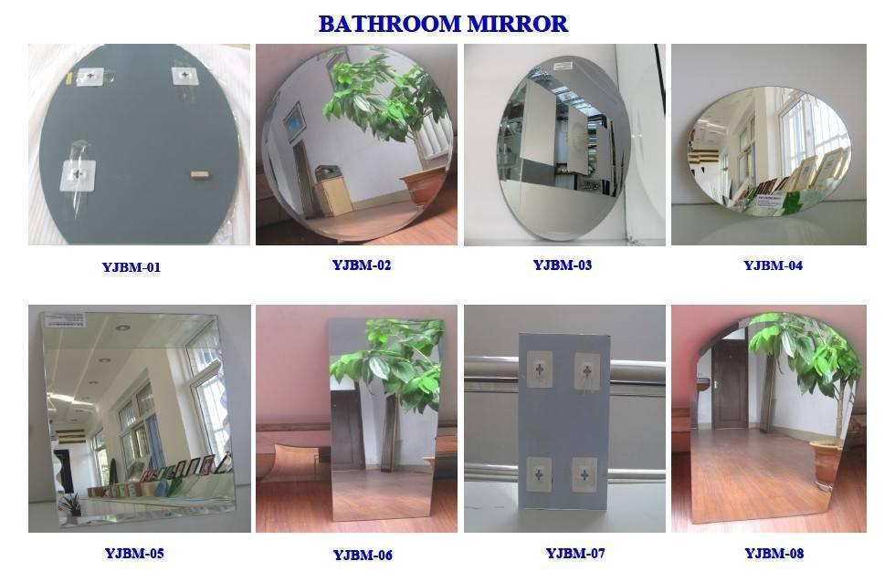 Bathroom Silver Mirror
