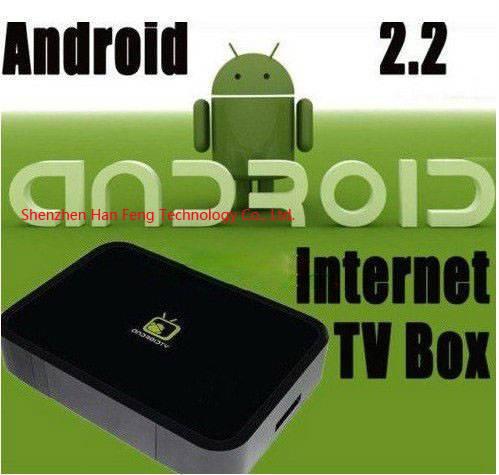 google TV box Android 2.2 OS mini PC Internet TV
