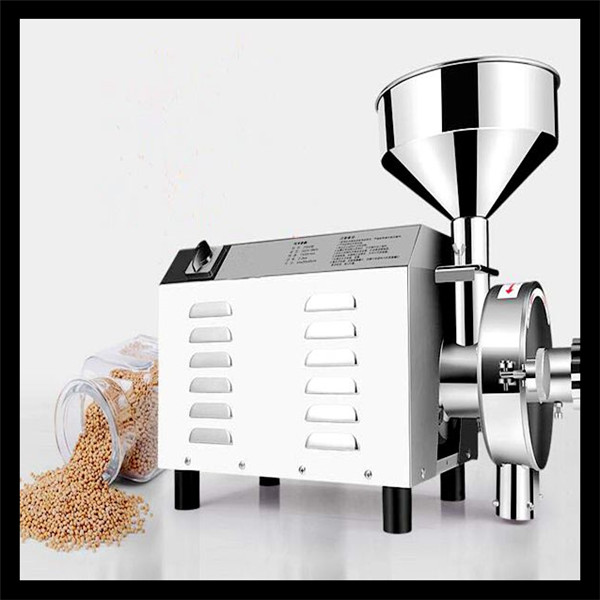 High quality home portable chili flour mill price CE standards