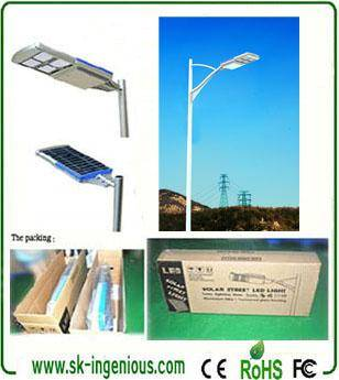 Factory Supply Lithium Battery Led All In One Solar Street Lights
