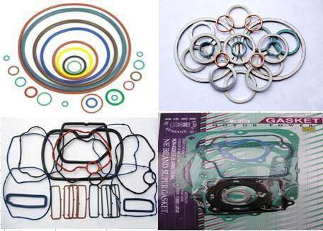 Motorcycle gasket set