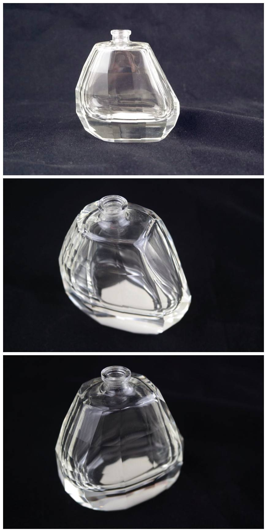 Good-quality glass perfume bottle, eco-friendly material