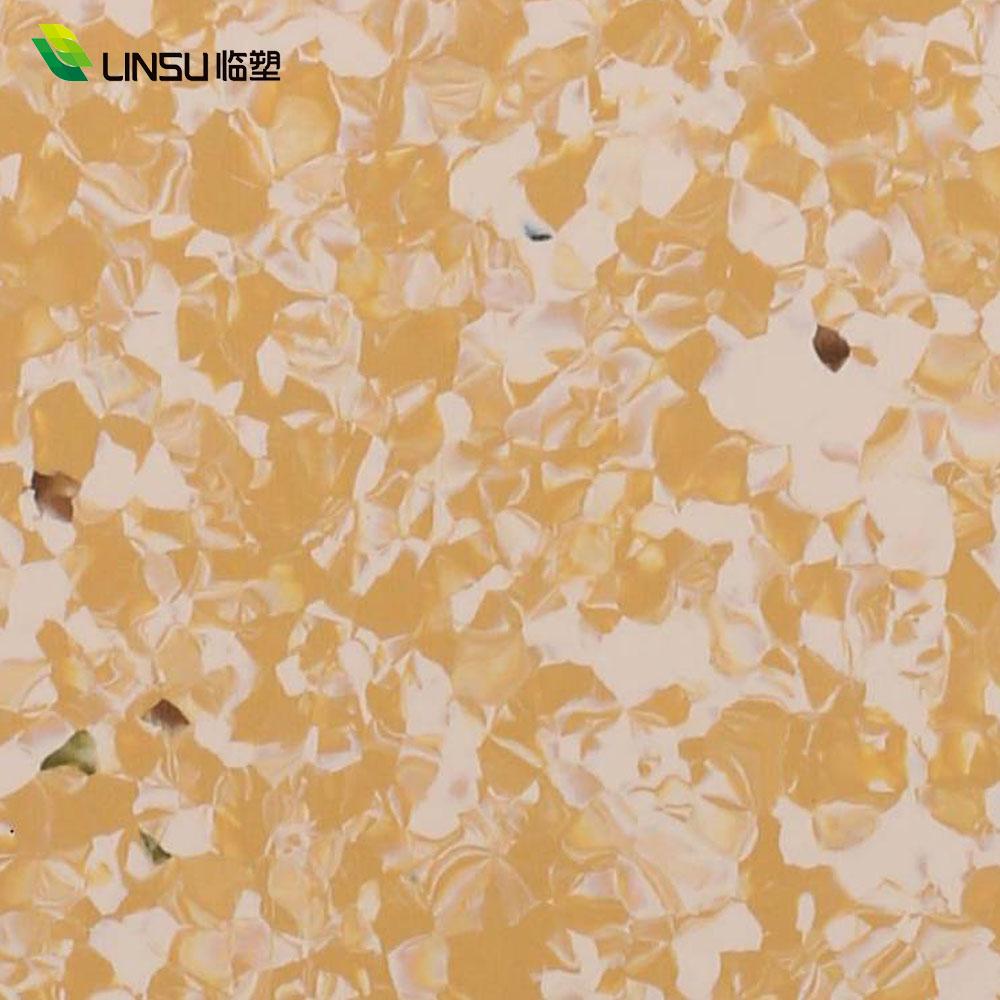 Antibacterial Hospital PVC floor rolls Homogeneous vinyl Floor