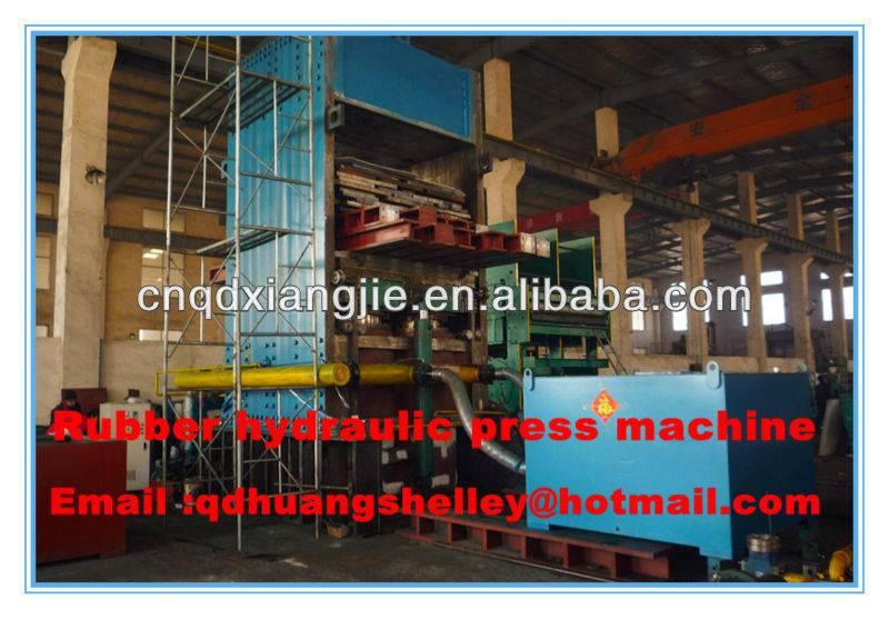 rubber press machinery