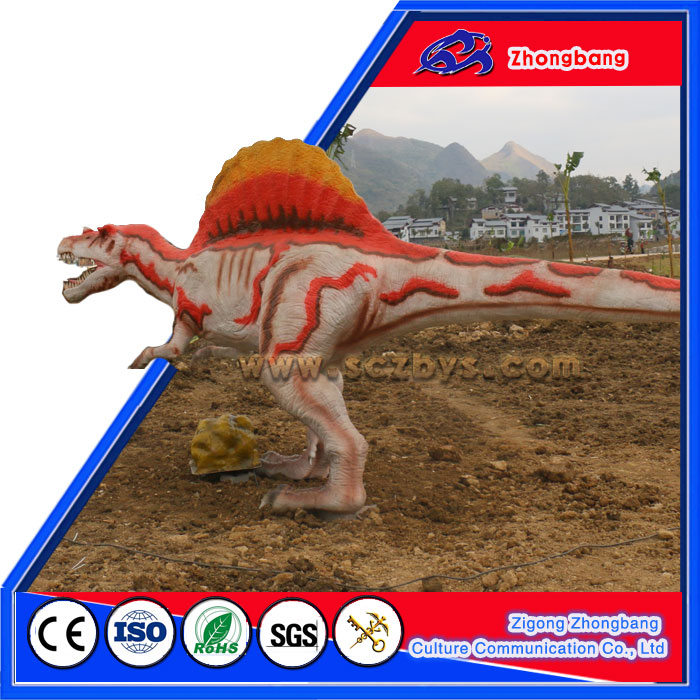 Quality Resin Dinosaur Statue Battery Toy Dinosaur