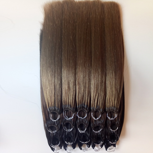 Cotton thread two stick hair Virgin hair Mid - to high-end fashion hair extensions