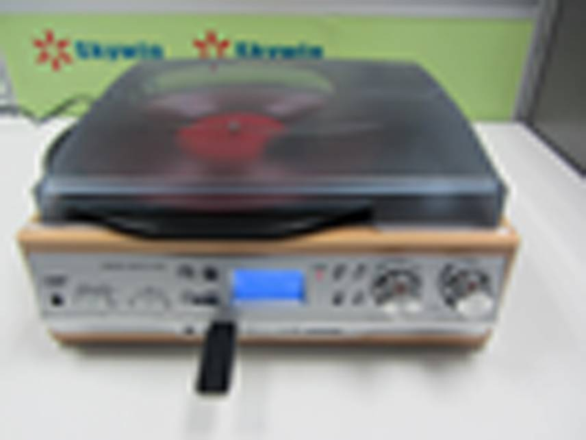 Turntable Player with Mp3 Converter
