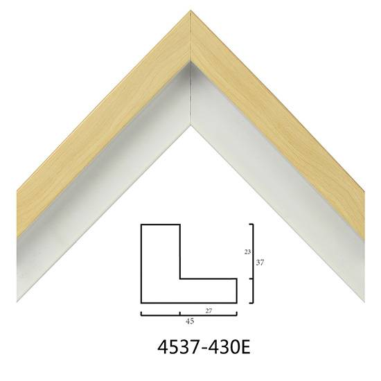 European Oil Painting Frame Moulding 4537 For Sale