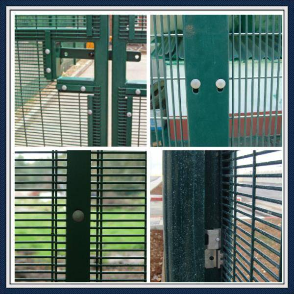 direct factory low price portable 358security anti-climb fence