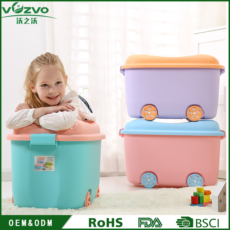 Plastic Toy Box Sundries Storage