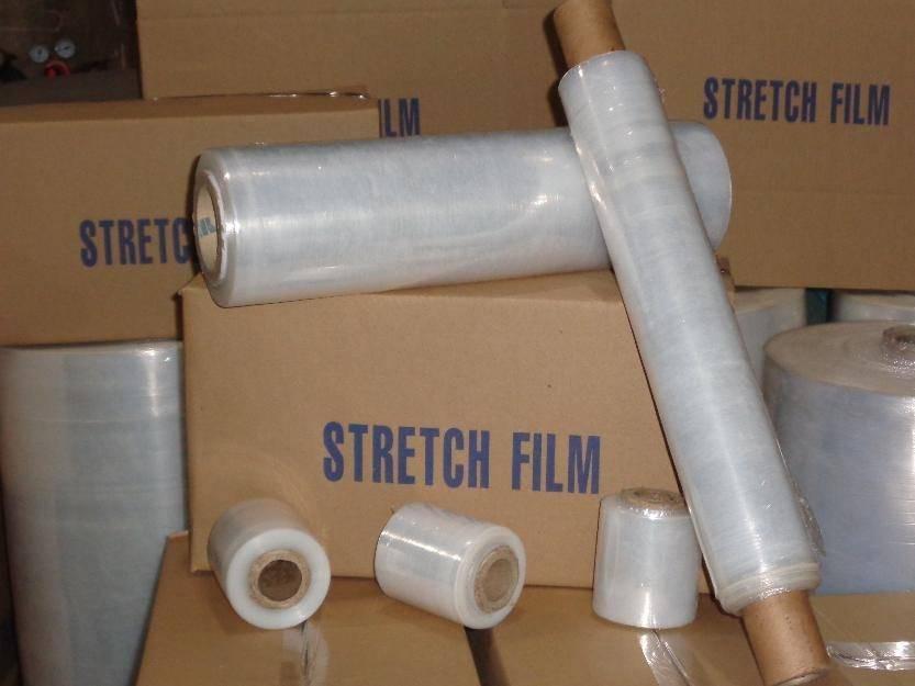 Machine use stretch film