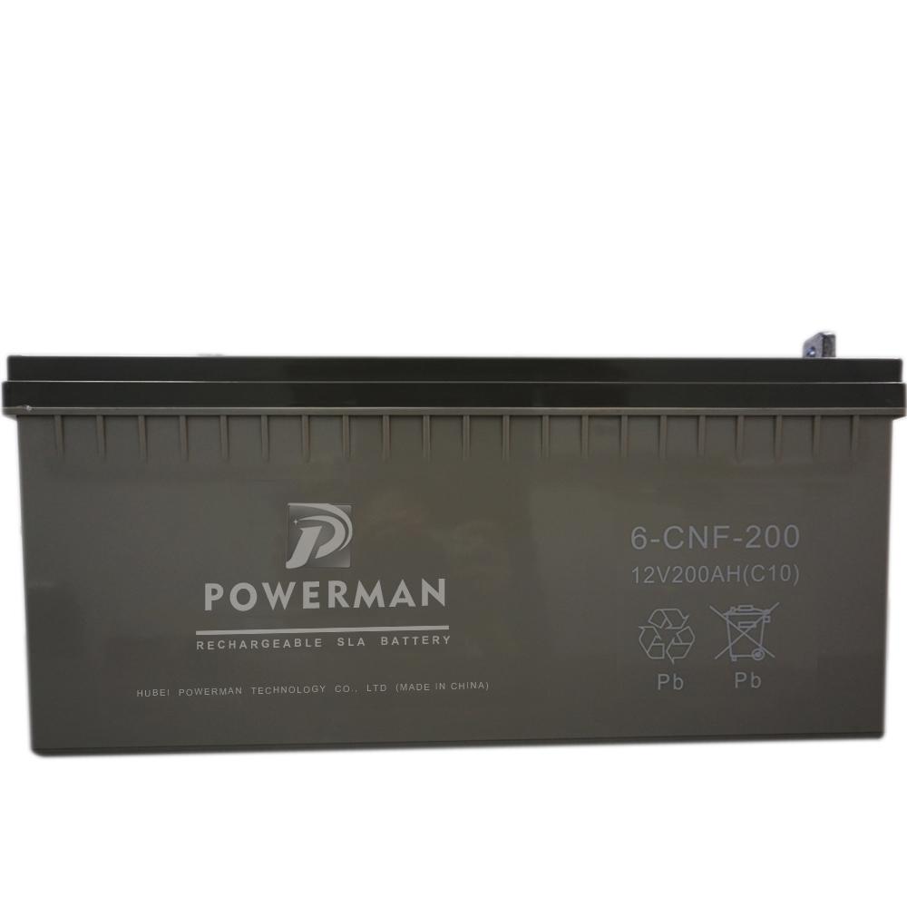 12V 200Ah Lead Acid UPS VRLA Storage Solar Battery