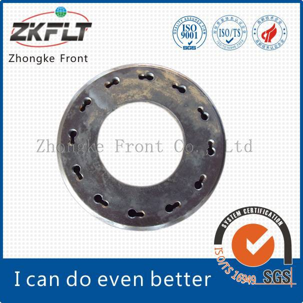 China spun pile end plate/building material