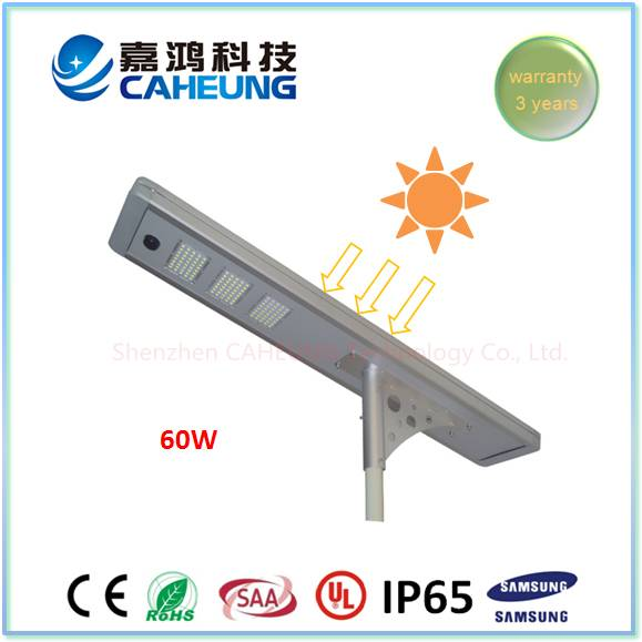 60W All in One Solar LED Street Light of Factory Price