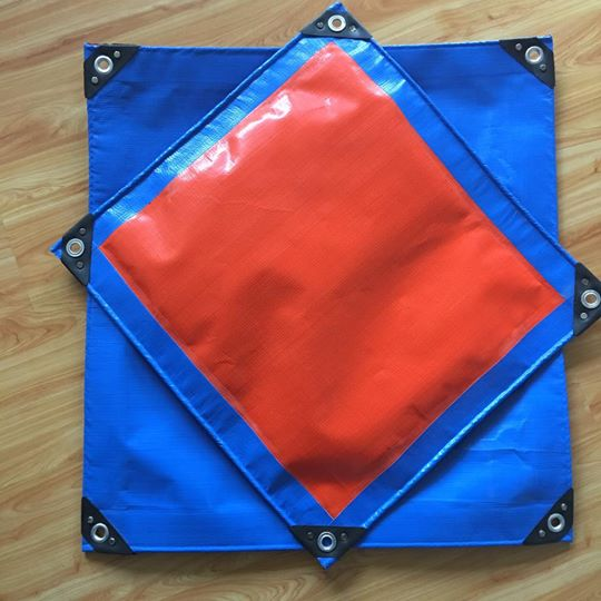 Factory price waterproof Blue PE Tarpaulin for covering
