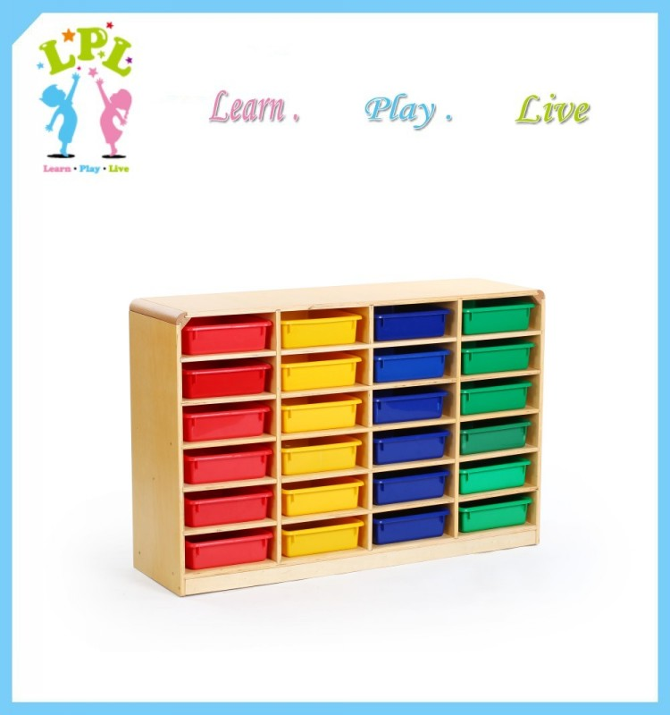 10 years Professional eco-friendly kids furniture toy storage cabinet