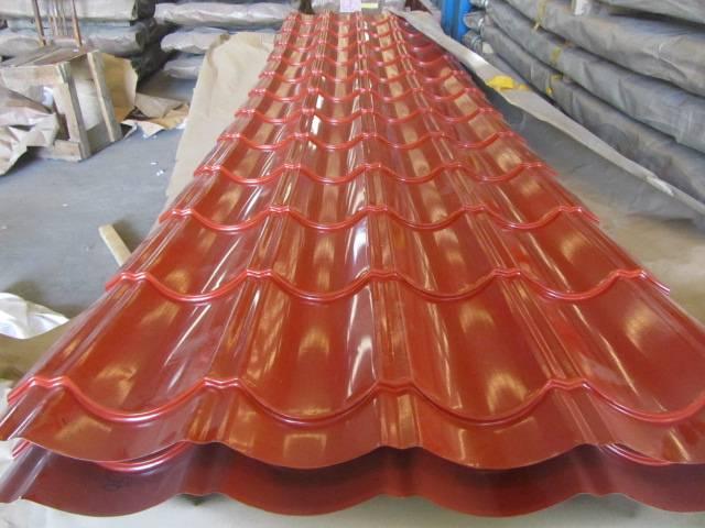 Galvanized Metal Building Glazed Roofing Sheet