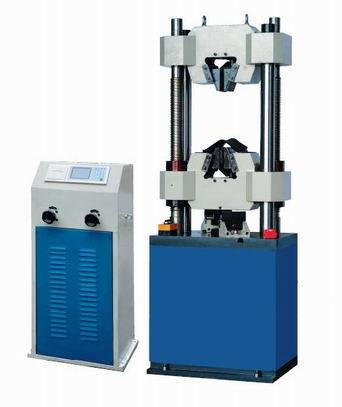 WE-300B Series Digital Display Hydraulic Universal Testing Machine