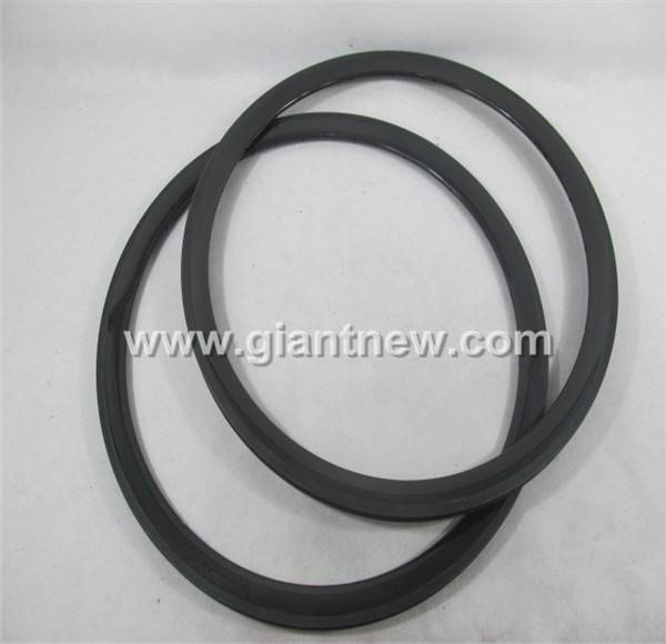 Carbon Wheels With Alloy Braking Surface Clinche