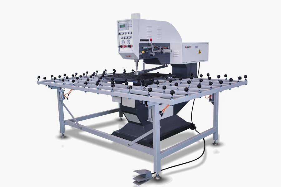 Automatic glass drilling machine SZ-ZK080