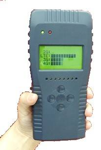 LTE 4G Mobile Phone Detector