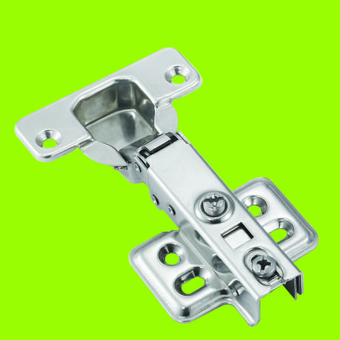 cold-rolled steel soft closing aluminum frame hinge full-overlay type