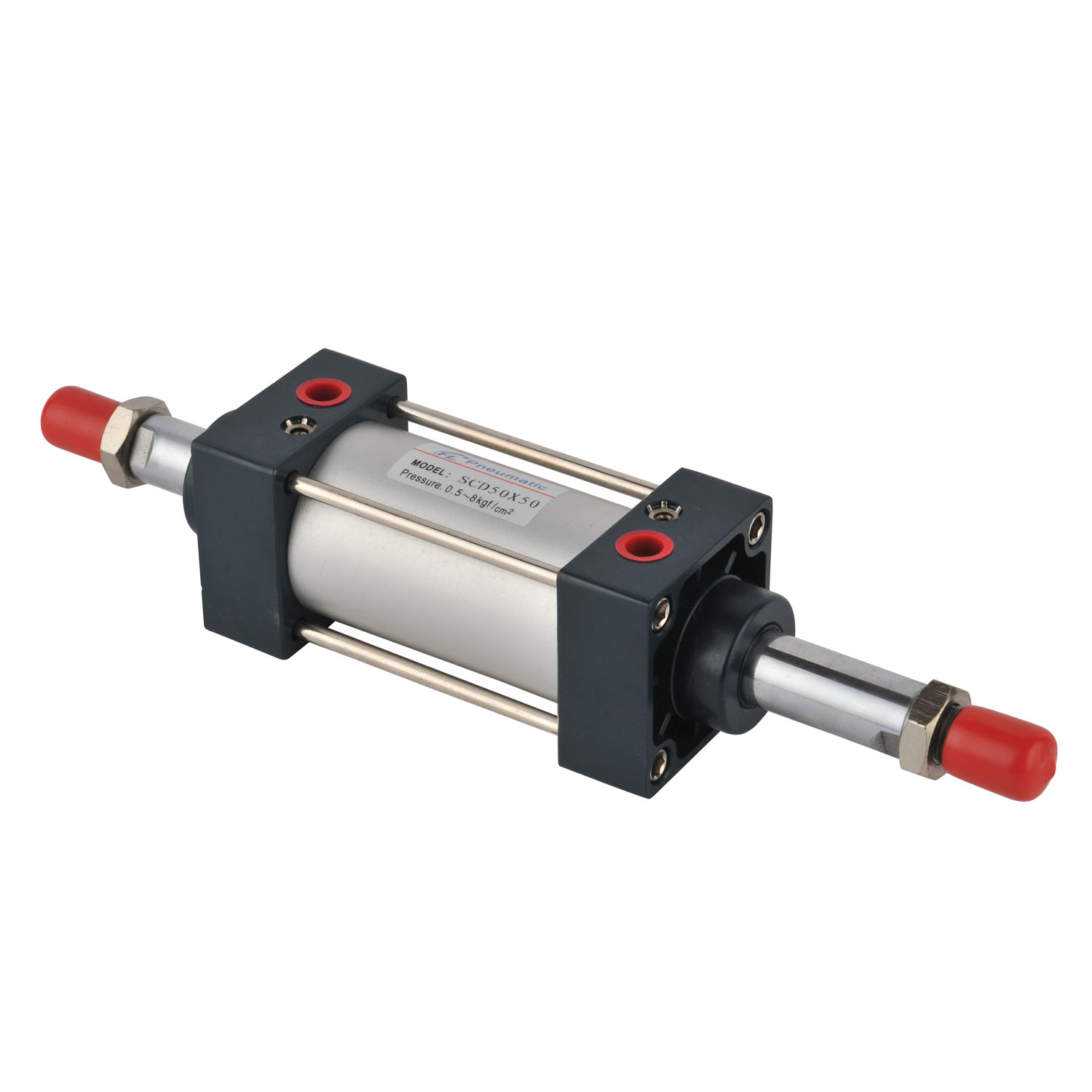 Long Stroke Double Action SCD Series Standard Pneumatic Cylinder
