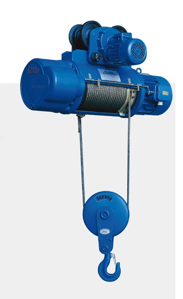 CD/MD Type Electric Wire Rope Hoist 0.5t-10t