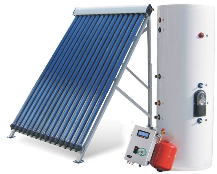 Pressurized Heat Pipe Solar Collector/Split Solar Water Heater System
