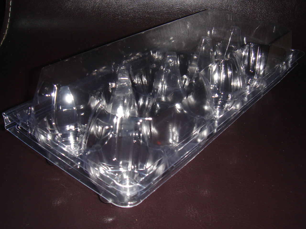 High quality economical PVC 10 counts Egg Packaging Tray