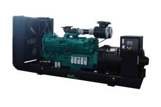 Cummins Diesel Generator Set 40kw Generating Machine Power Plant Fuel Generator Set