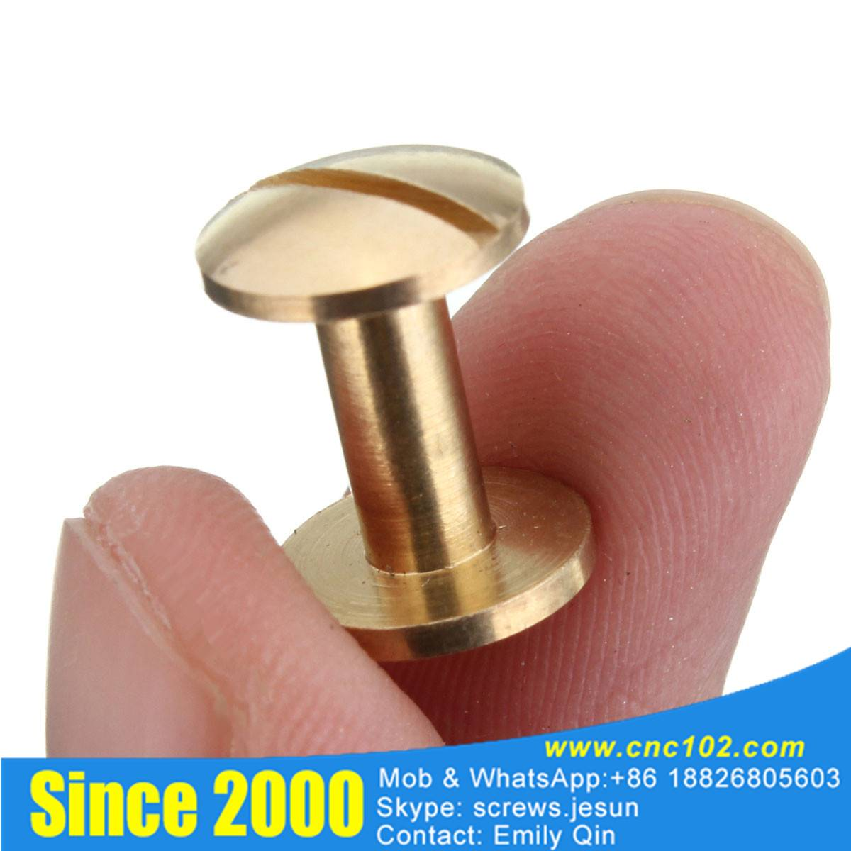 China supplier brass binding post screw