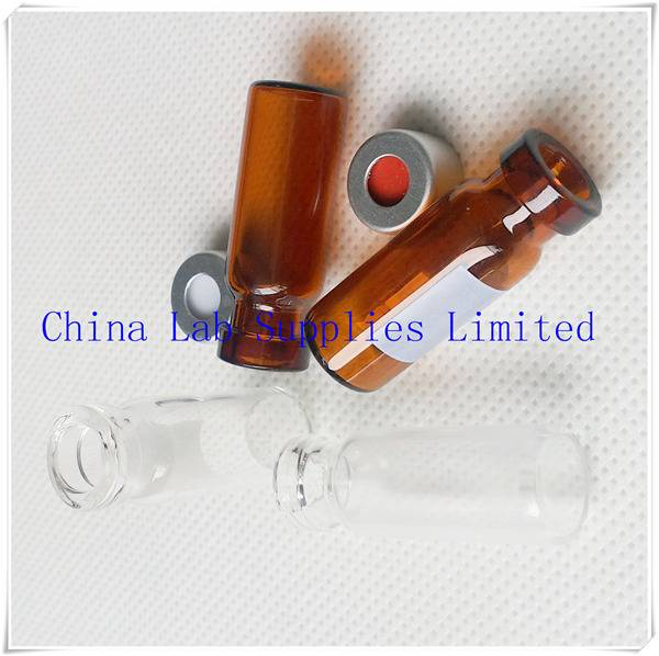 made in china best price glass amber Bottle for GC analysis V1135