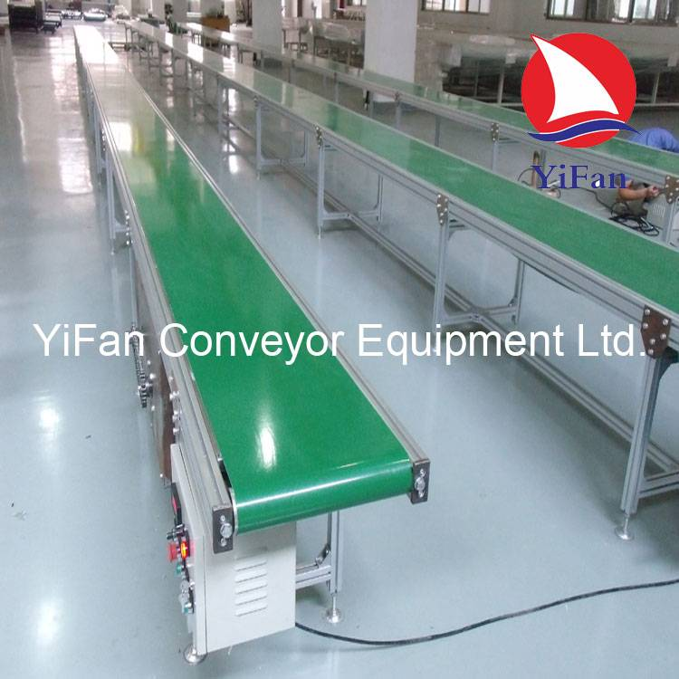 Aluminum PVC Belt Conveyor