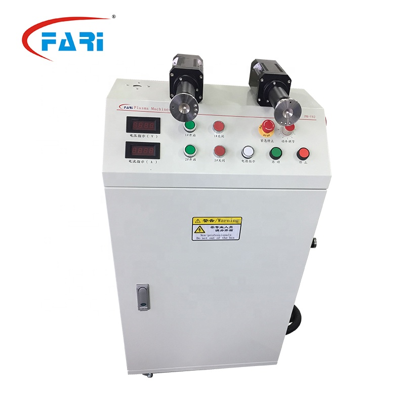 Two Guns Atmospheric Plasma Surface Treatment System Plasma Etch Machine for Microfine Cleaning